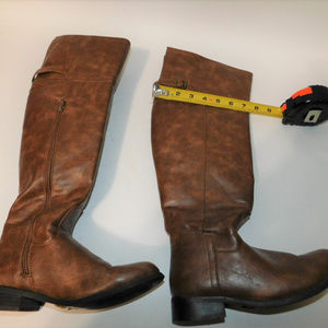 Tall Brown Riding Boots size 6
